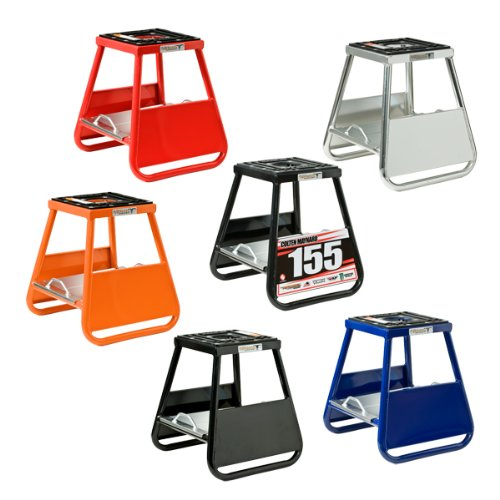 Pit Posse Motorcycle Panel ID Stand Fits Motocross Dirt bike MX Honda Kawasaki Suzuki Yamaha KTM Comes with A Removable Tool Tray - 5 Year Warranty- Motorcycles/Automotive Accessories ()