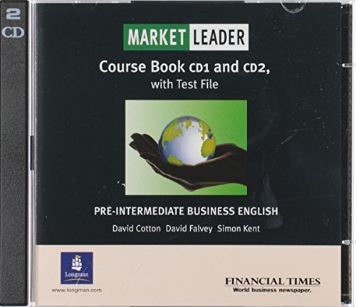 Market Leader: Pre-intermediate Practice File CD: Business English with the ''Financial Times'' (Market Leader) (CD-Audio) - Common by LONGMAN