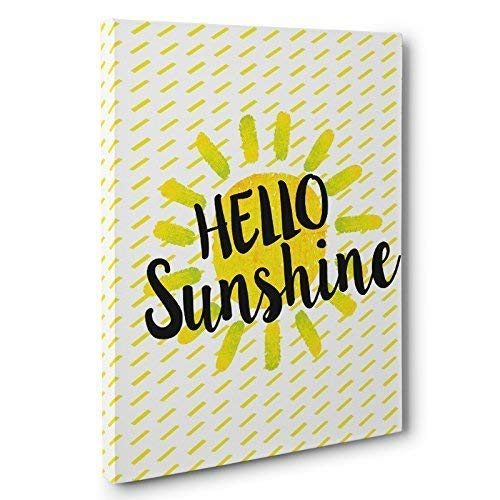 Hello Sunshine Canvas Wall Art