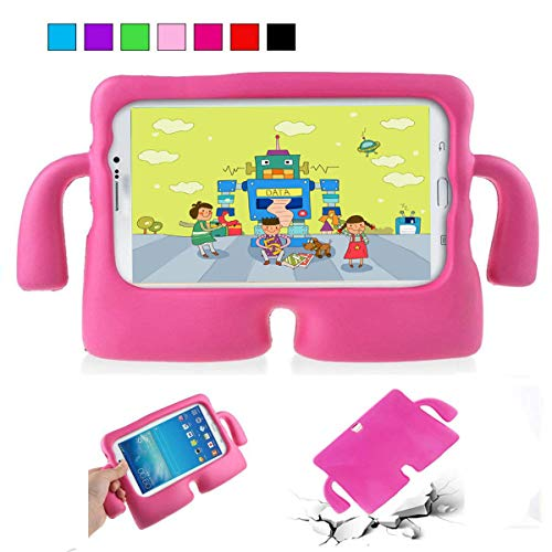 Nifly Samsung Galaxy Tab 4 /Tab 3 /Tab 2 10.1 Kids Case, EVA Kids Case Shockproof Light Weight Handle Stand Case for Kids Fit for Samsung Tab 4 10.1
