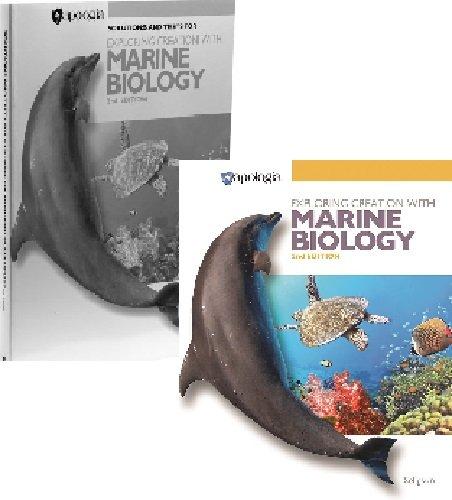 Marine Biology Set - 1