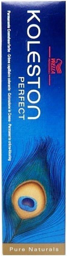 Wella Professionals Koleston - Tinte para cabello (60 ml), 8/04 rubio claro natural-rojizo
