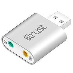 iitrust USBサウンドアダプター D062-C-SLV