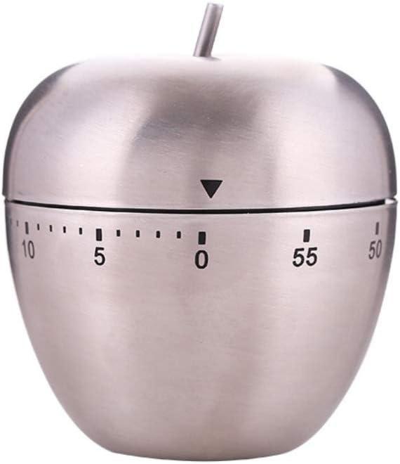 INSHERE Kitchen timers, Home timers, Mechanical Reminder, Egg / Apple timers, Kitchen Baking, Cooking Reminder (Apple)