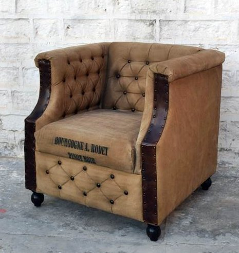 Home Decorating Shop Butaca Sillon Estilo Industrial Vintage ...