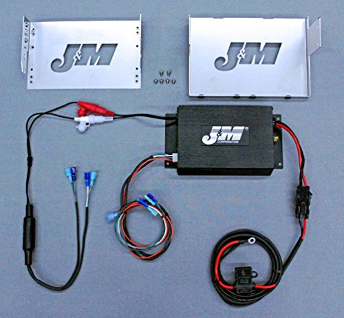 J&M Audio 200 Watt 2 Channel Amplifier Kit for 2006-2013 Harley-Davidson Electra Glide Street Glide Trike models - JMAA-2000HC06