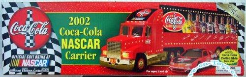 2002 Coca-Cola Nascar Carrier ~ Gold (Coca Cola Nascar Race)