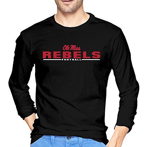 Men Ole Miss Rebels Sport Wordmark Tshirts Long Sleeves