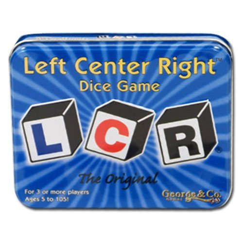 Original LCR Left Center Right Dice Game