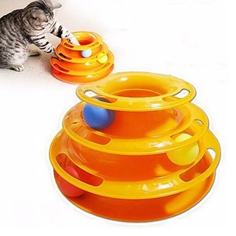 Ukallaite Divertido Juguete Interactivo para Gatos y Mascotas ...