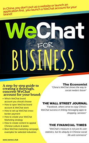 Amazon com: WeChat for Business: The most effective social
