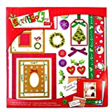 #6: Christmas Scrap Booking Kit - Everything You Need to Create Your Own Christmas Scrapbook
