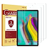 OMOTON [3 Pack] Screen Protector for Samsung Galaxy Tab S5e 10.5 inch (SM-T720 / SM-T725) - Tempered Glass/Scratch Resistant