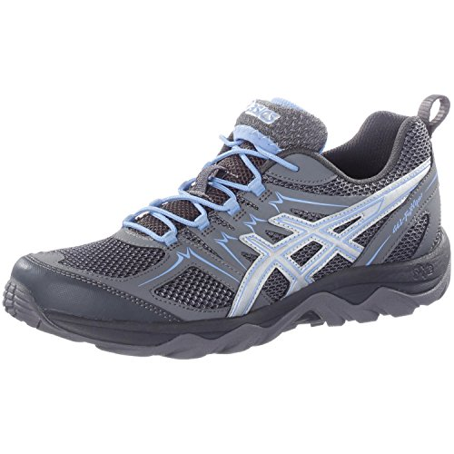 ASICS Damen Walkingschuhe anthrazit/hellblau