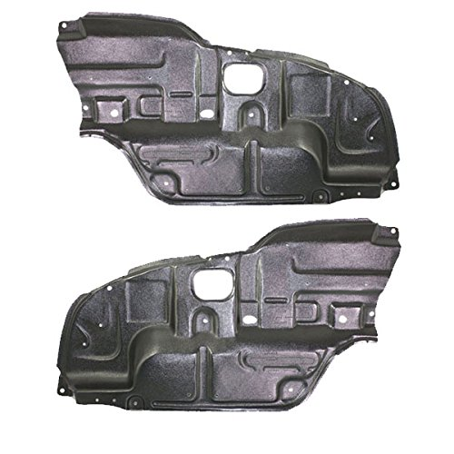 Koolzap For 02-06 Camry Front Engine Splash Shield Under Cover Undercar Left Right PAIR - 2002 Camry Toyota Engine