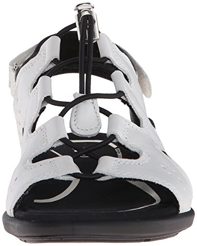 ECCO Women's Women's Bluma Toggle Gladiator Sandal White in China cheap online clearance new arrival Y6Vj4EUe