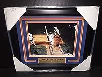 Mookie Wilson Bill Buckner 8x10 Photo 1986 World Series Framed NEW YORK METS