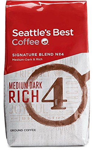 Seattle's Best Coffee comes in an EasyLock container that is Airtight, Watertight, and Stackable (32 OZ)