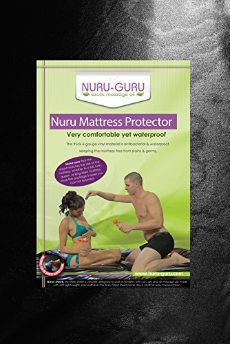 Nuru Sheets Nuru Mattress Waterproof (Full) (Grey)
