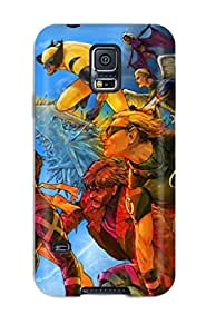 New Style Tpu S5 Protective Case Cover/ Galaxy Case - X-men Attacks!
