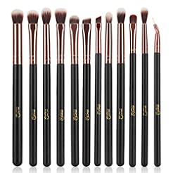 MSQ Eye Makeup Brushes 12pcs Rose Gold E...