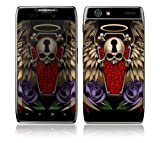 Motorola Droid Razr, Razr Maxx Decal Phone Skin Decorative Sticker w/ Matching Wallpaper - Traditional Tattoo 2