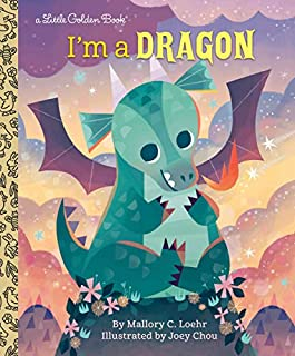 Book Cover: I'm a Dragon