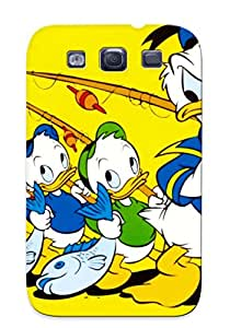 VDYZQDp2142ojzsA Anti-scratch Case Cover Carpalv Protective Donald Duck Kid Cartoon Case For Galaxy S3
