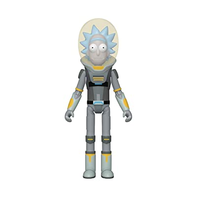 Funko Action Figure: Rick & Morty - Space Suit Rick: Toys & Games