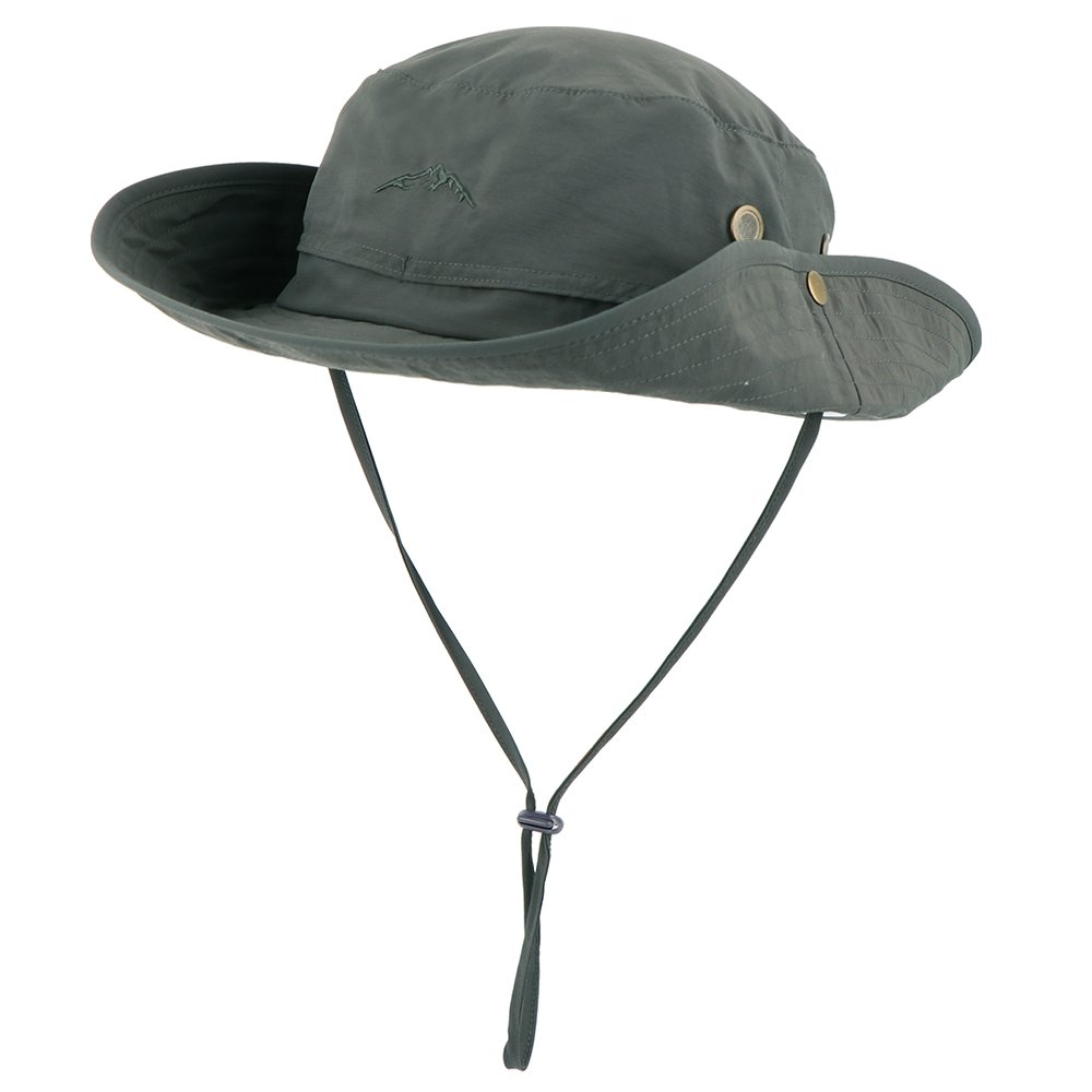 71ba8b8a32581 Anyoo Outdoor Boonie Hat Breathable Wide Brim Summer Sun Cap UV Protection  Fishing Camouflage Hat for Men and Women