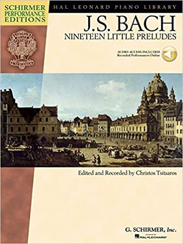 Book Johann Sebastian Bach - Nineteen Little Preludes: With Online Audio of Performances Schirmer Performance Editions (Schirmer Performance Editions: Hal Leonard Piano Library) (2012-03-12)