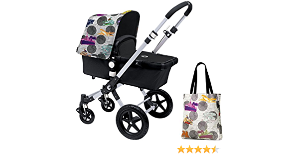 Andy Warhol Transport//Dark Grey Special Edition Bugaboo Cameleon3 Accessory Pack