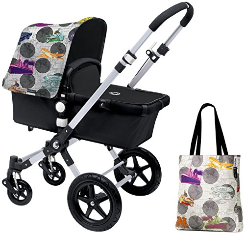 Bugaboo Cameleon3 Accessory Pack - Andy Warhol Transport/Dark Grey (Special Edition) by Bugaboo