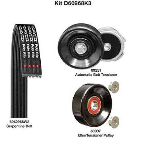 Dayco Demanding Drive Kit (D60968K3)