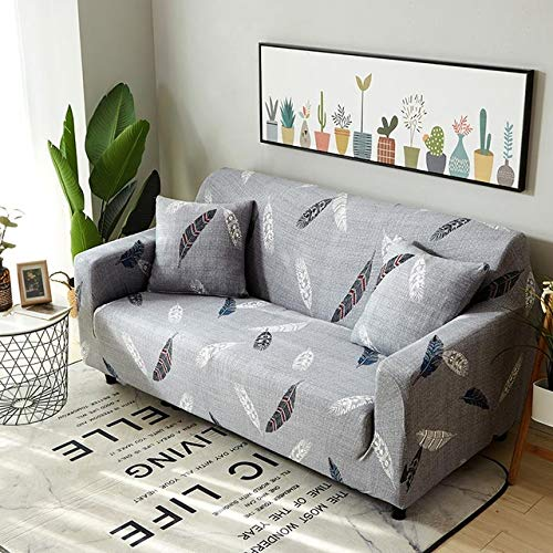 Elastic Slipcovers Sofa Removable AllInclusive Couch Cover for Living Room Sofa Cover Towel Armchairs Home Decor couvre canap   color 18, Cushion Cover 2pcs