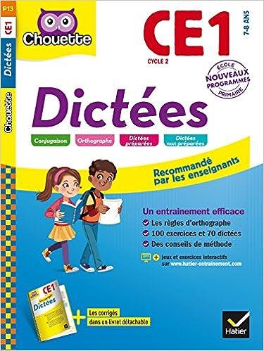Dictées-Les cahiers Chouette,Hatier