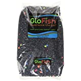 Glofish Aquarium Gravel, Black with Fluorescent Highlights, 5-Pound Bag