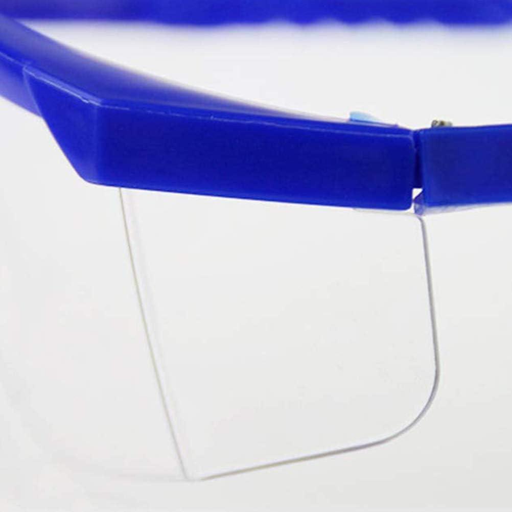 Gafas Protectoras Transparentes Gafas Resistentes a los ara/ñazos Gafas Resistentes al Viento a Prueba de Polvo Gafas de Seguridad para construcci/ón Gafas Protectoras Productos qu/ímicos Laboratorio