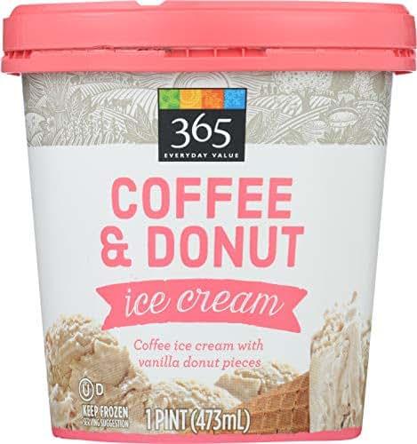 365 Everyday Value, Coffee & Donuts Ice Cream, 16 oz (Frozen)