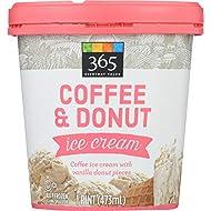 365 Everyday Value Coffee & Donuts Ice Cream, 16 oz (Frozen)