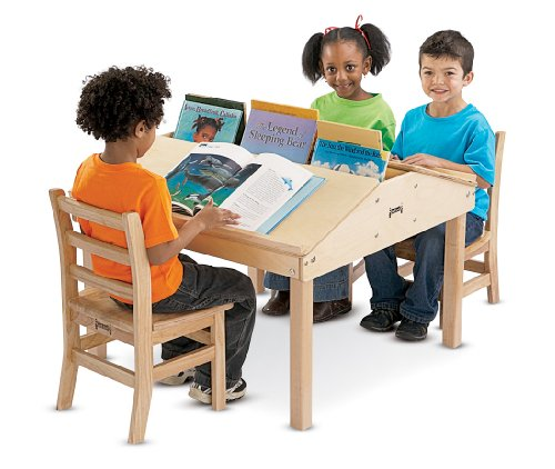 "JonTi CrafT 3850JC Quad Tablet And Reading Table, 20 1/2""..."