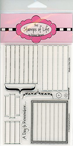 Notebook Journal Stamps for Card-Making and Scrapbooking Supplies by The Stamps of Life - Lines2Journal Organization Planner