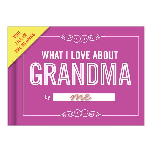 Love Stationery - Knock Knock What I Love About Grandma Fill in the Love Journal