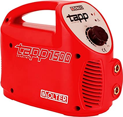 Solter 04246 Inverter TAPP 1500 E E, 3.2 W, 240 V, Rojo