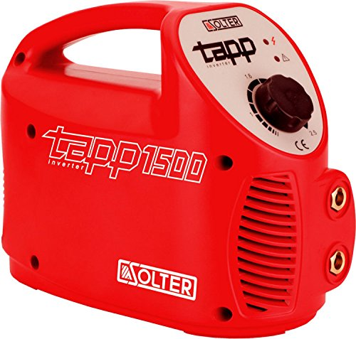 Solter 04246 Inverter TAPP 1500 E, 3.2 W, 240 V, Rojo