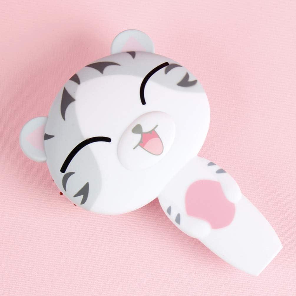 TOYANDONA 1PC Portable Handheld Fan Adorable USB Charging Fan Cartoon Pocket Fan Multi-Purpose Personal Cooling Fan Creative Students Mute Fan for Outdoor Students Summer
