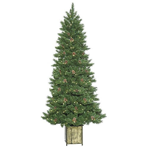 (Vickerman Potted Newfield Fir Christmas Tree)