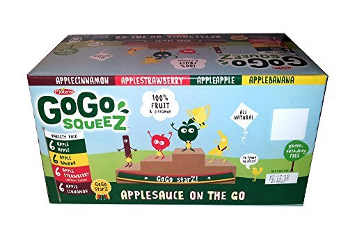 Materne GoGo Squeez Organic Applesauce, Variety Pack, 3.2 oz, 20 ct by Materne (Image #6)