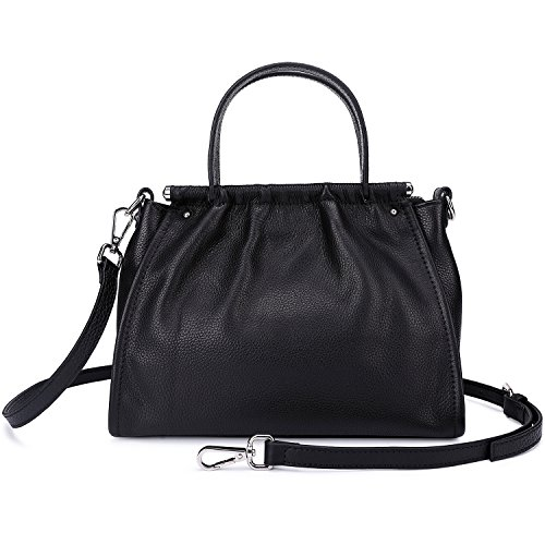 Travel Black Purse Small Messenger For Leather Shoulder Handbags Bags Women Black Crossbody q0Bt0Y