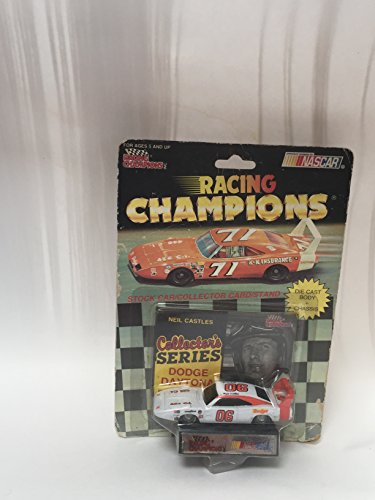 NASCAR NEIL (SOAPY) CASTLES RACING CHAMPIONS #06 SCALE 1:64 1992 Edition WITH CARD
